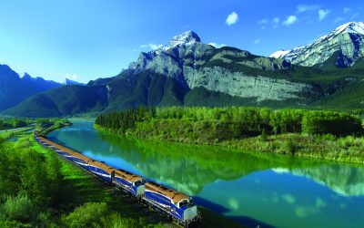 Rocky Mountaineer arrangement